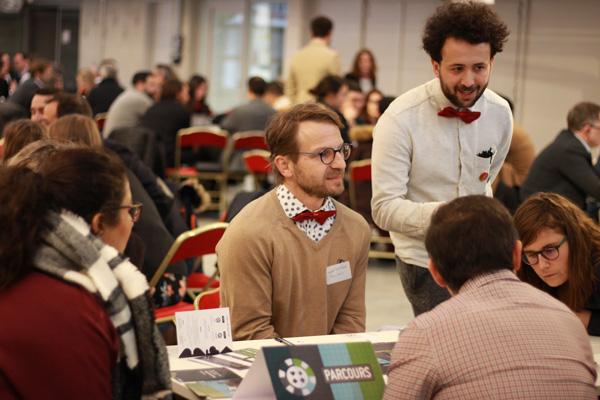 Gauthier Destombes au Connecting Meeting du Pôle EMC2 en 2020