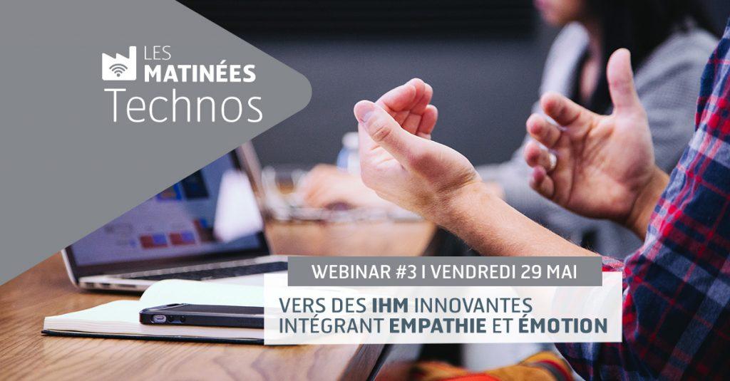 Matinée Techno : Vers des IHM innovantes
