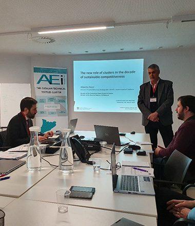 Photo prise lors de la réunion de lancement de CLAMTEX