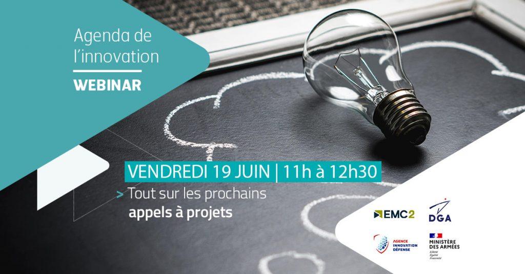 Agenda de l'innovation by EMC2 | RAPID & EDIDP