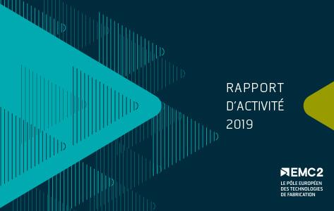 Couverture du rapport d'activité 2019