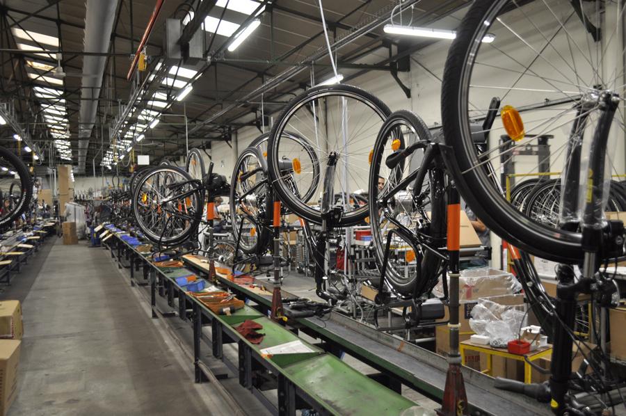 Atelier de la Manufacture Française du Cycle